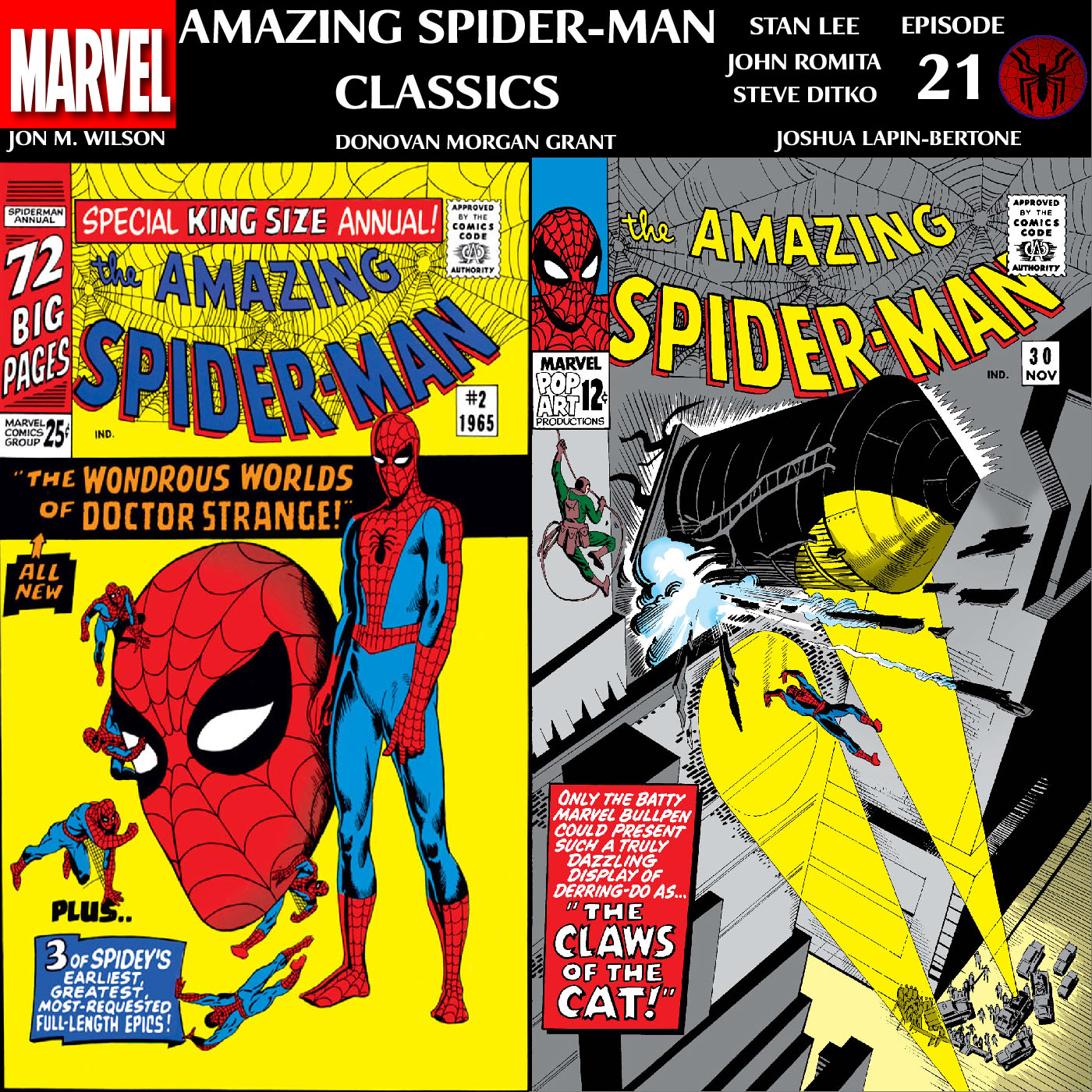 ASM Classics Episode 21: Amazing Spider-Man Annual 2 and 30
