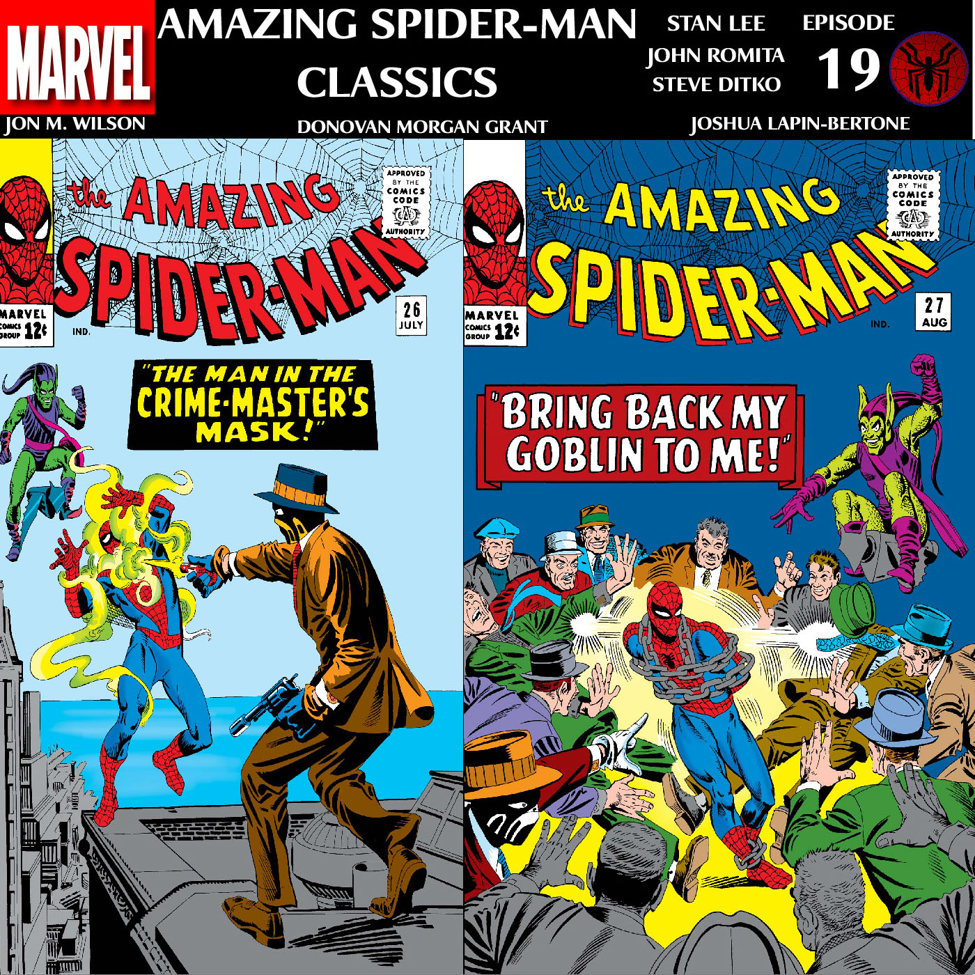 ASM Classics Episode 19: Amazing Spider-Man 26 and 27