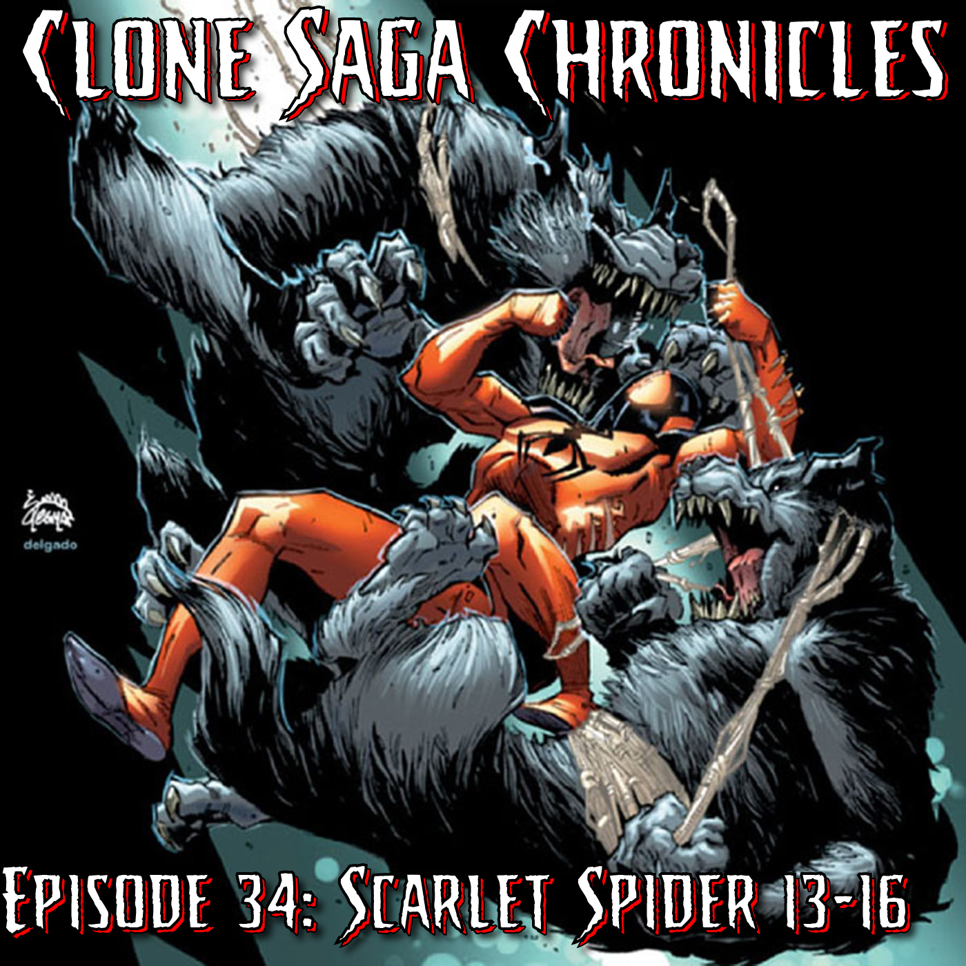 CSC Episode 34: Scarlet Spider (Vol II) 13-16 (Cover Date: Mar/Apr/Jun/Jul 2013)