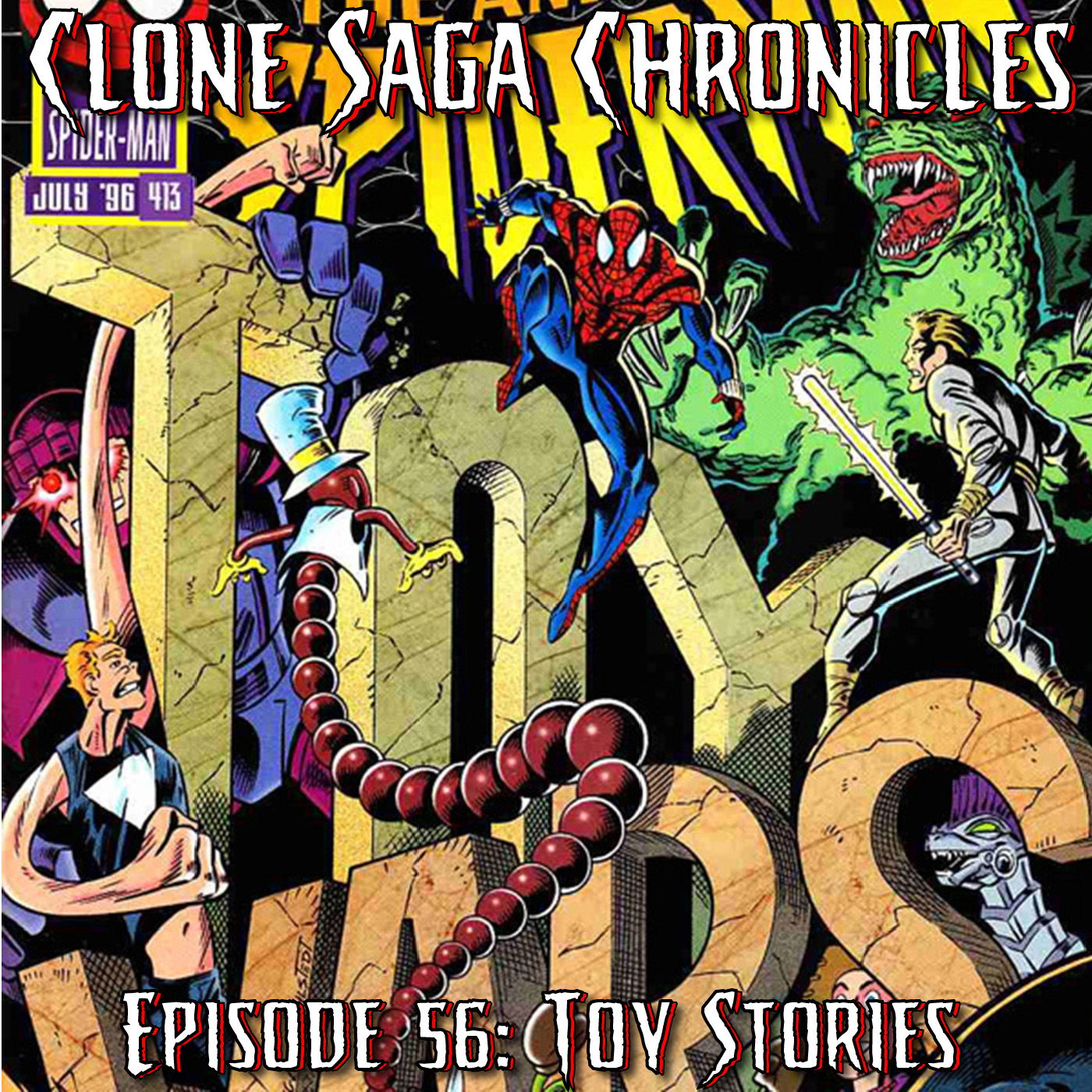 CSC Episode 56: Toy Stories (June July 1996)