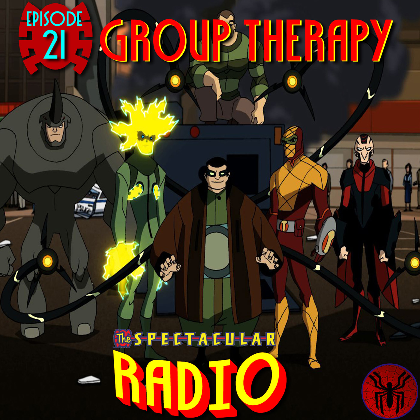"""Spectacular Radio Episode 21: """"Group Therapy"""" With Greg Weisman & Andrew Robinson"""