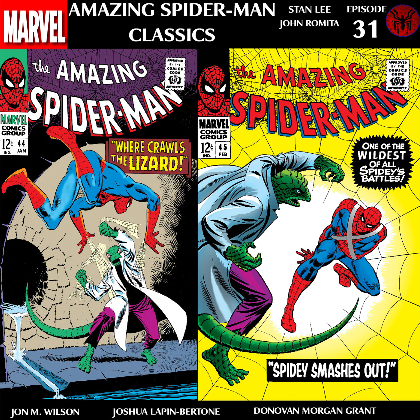 Amazing Spider-Man Classics Episode 31: ASM 44 & 45
